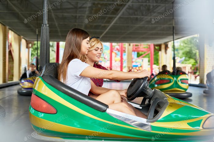 Amusement driving