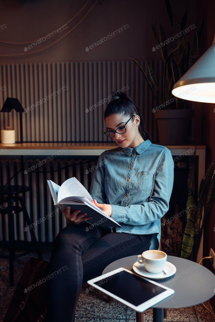 Focused on reading