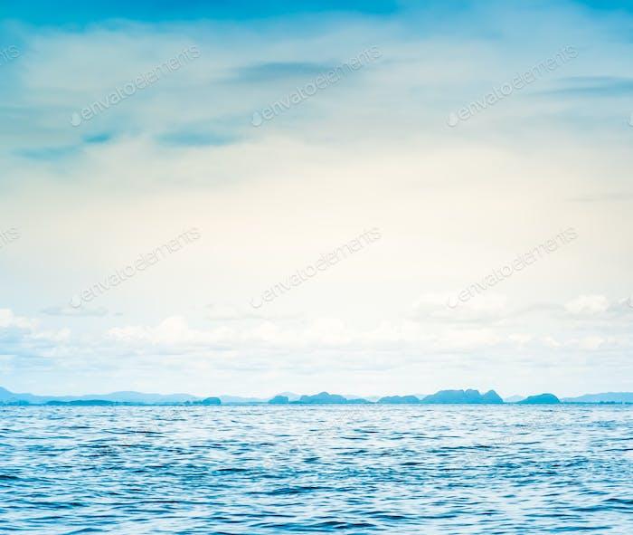 Blaues Sonnenmeer