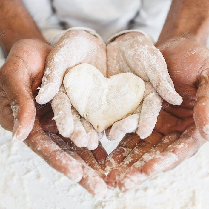 Liebe und Familienkonzept