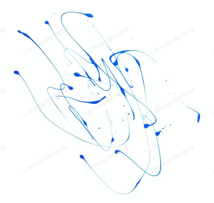 Abstrakte Striche Komposition