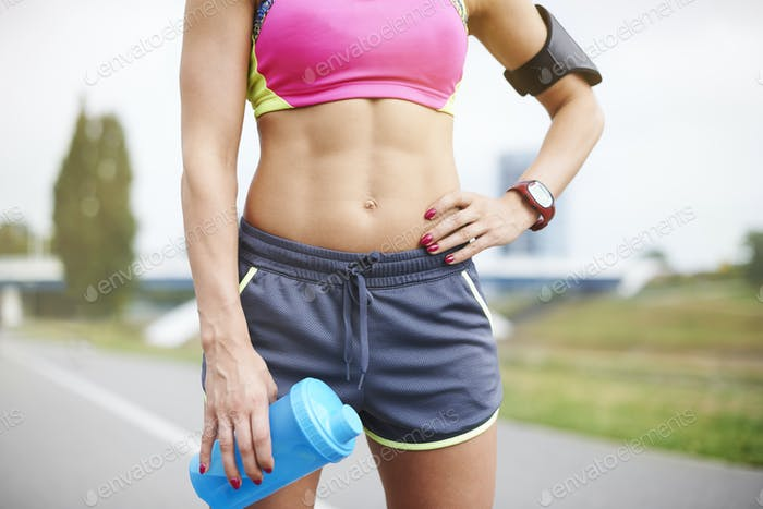 Jogging helps in building muscles