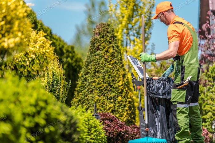 Garten Saisonale Wartung