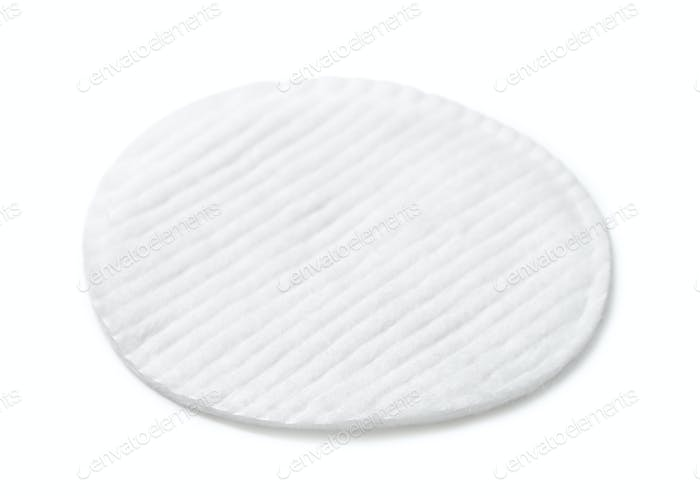 Single cosmetics cotton pad