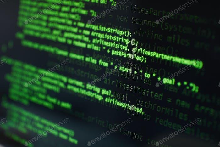 Computer program on computer