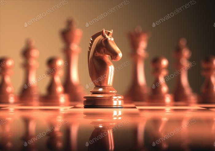 Knight Chess Game Board