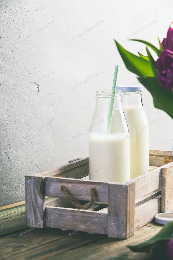 Milchflaschen