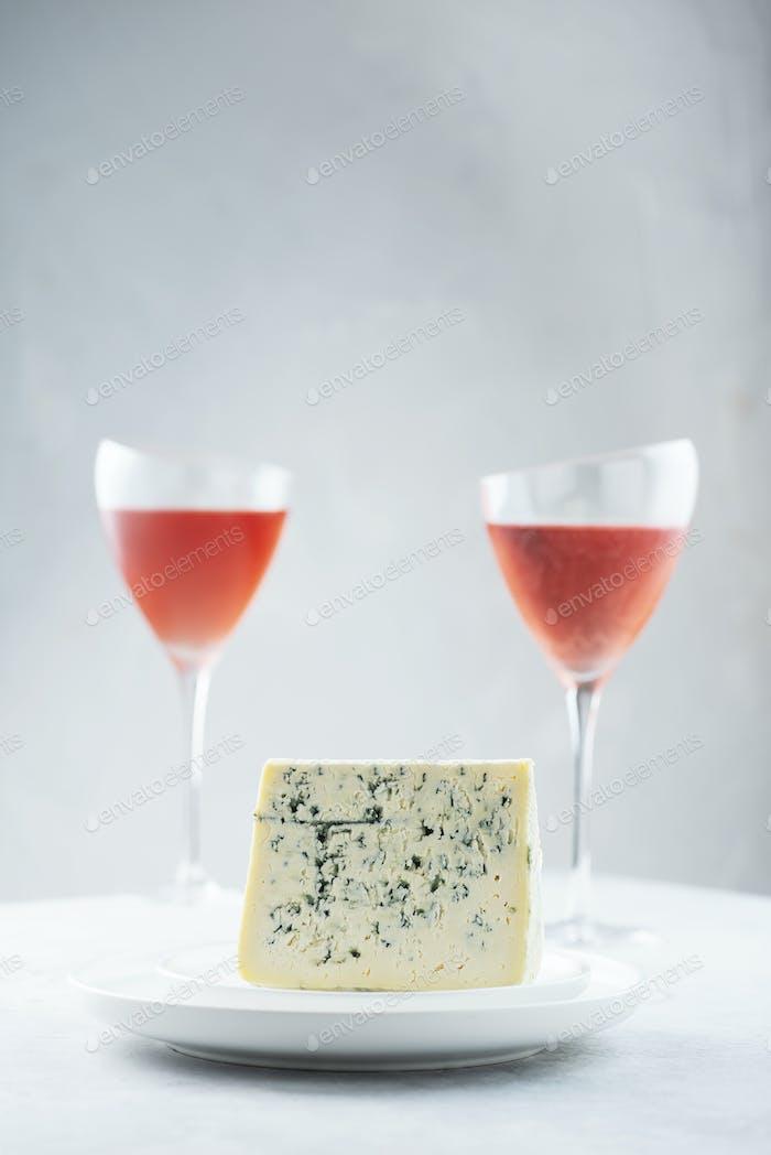 Italienischer Käse Gorgonzola