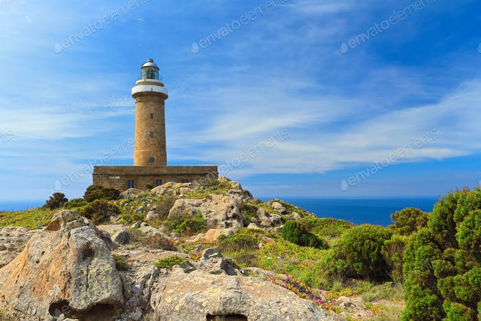 San Pietro island - lighthouse