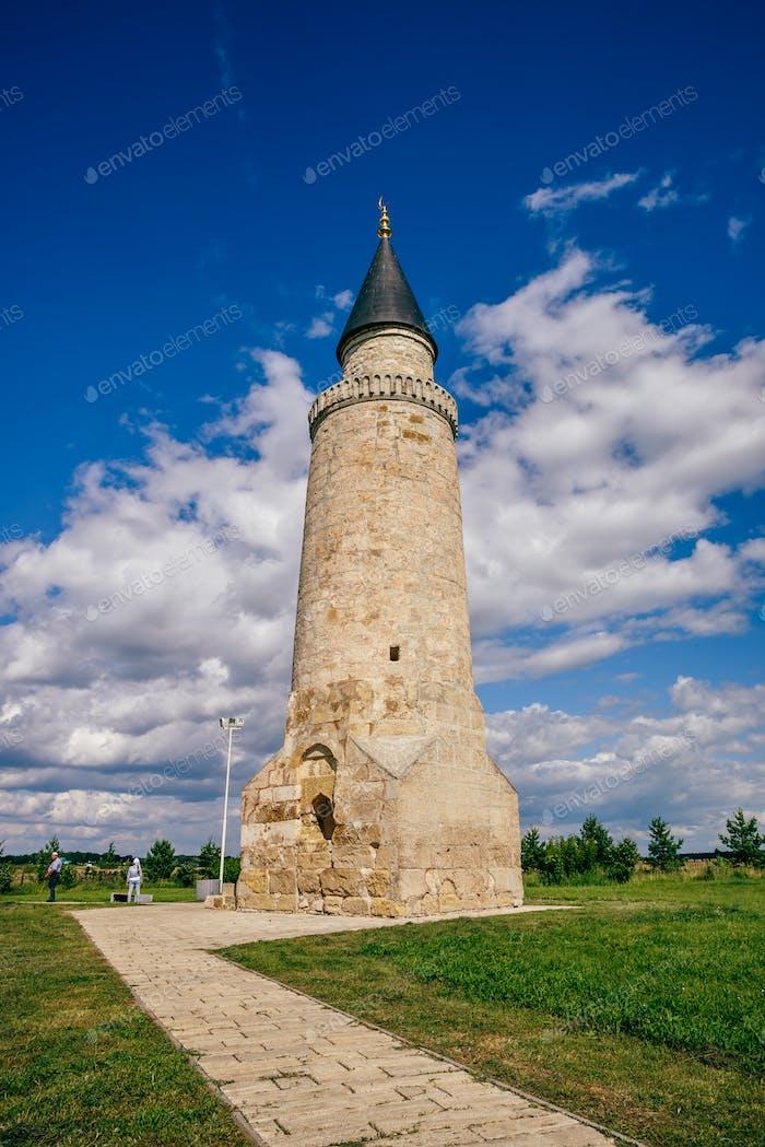 Small Minaret in Bolghar Hill Fort.