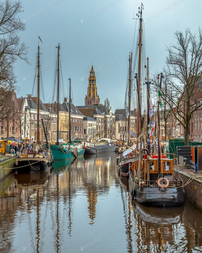 View Historic sailing ships Groningen