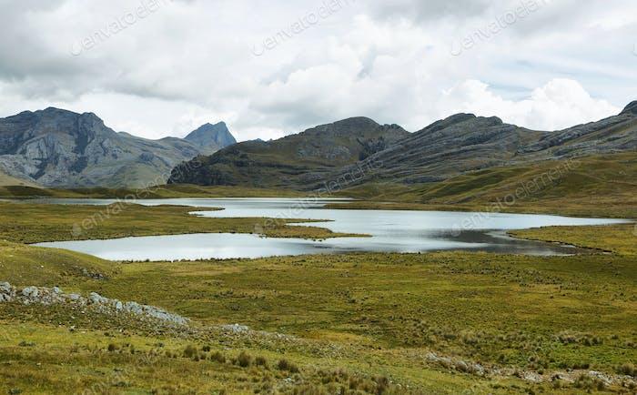 Huachucocha lake, Peru