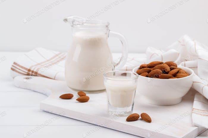 Healthy almond milk