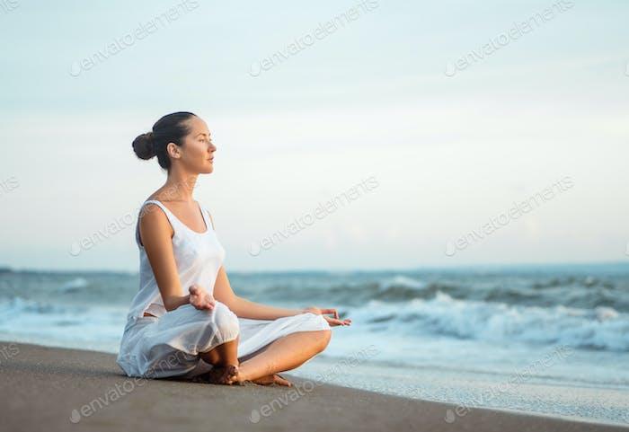 Yoga in summer