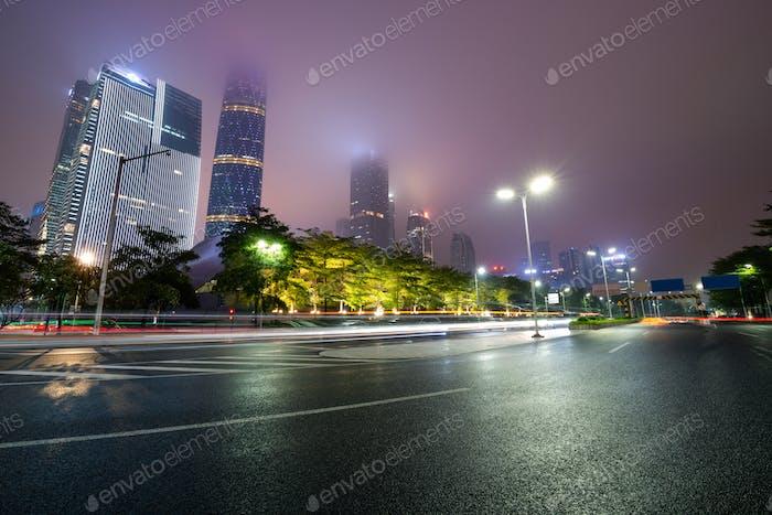 The urban traffic