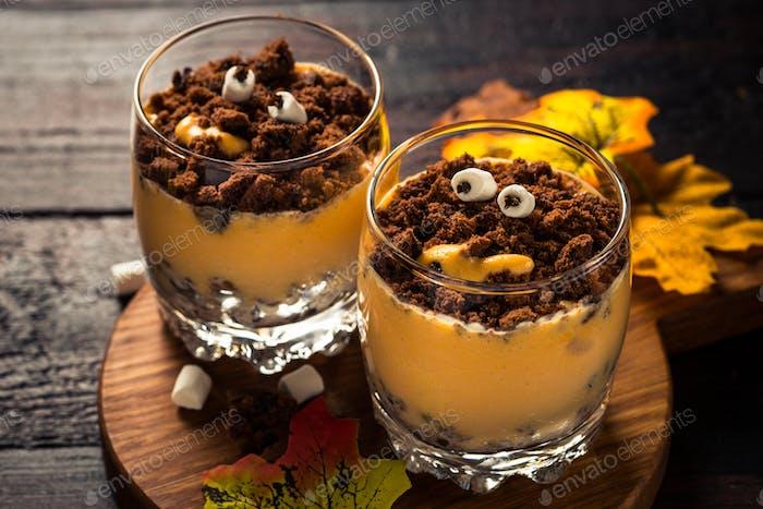 Halloween sweet dessert