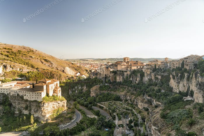 Cuenca (Spanien), casas colgadas