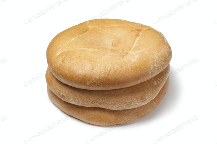 Pile of Moroccan Bread