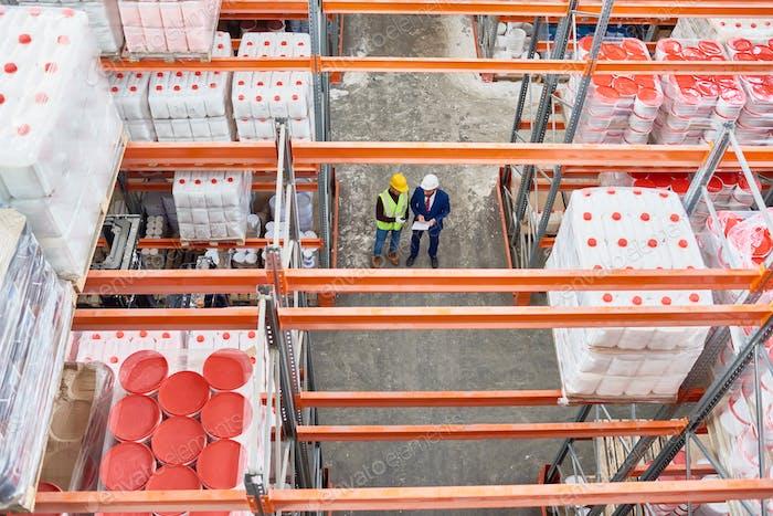 Warehouse High Angle