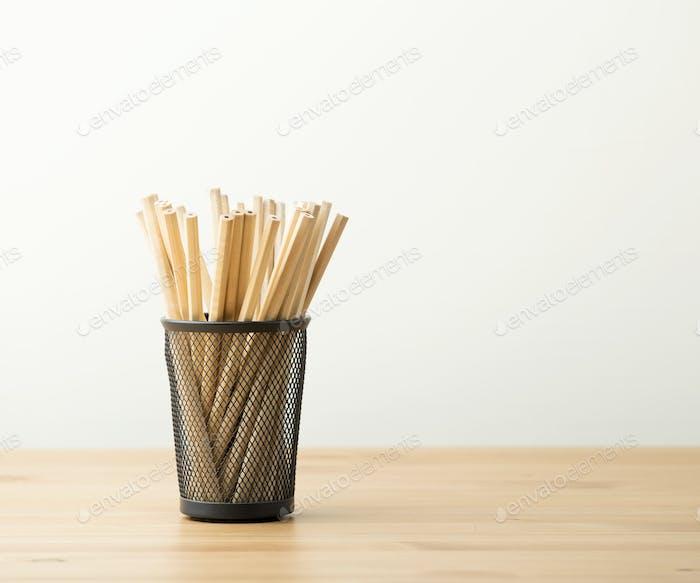 Bleistift-Topf