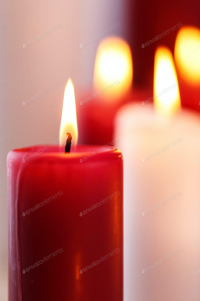 Wunderschöne Kerzen