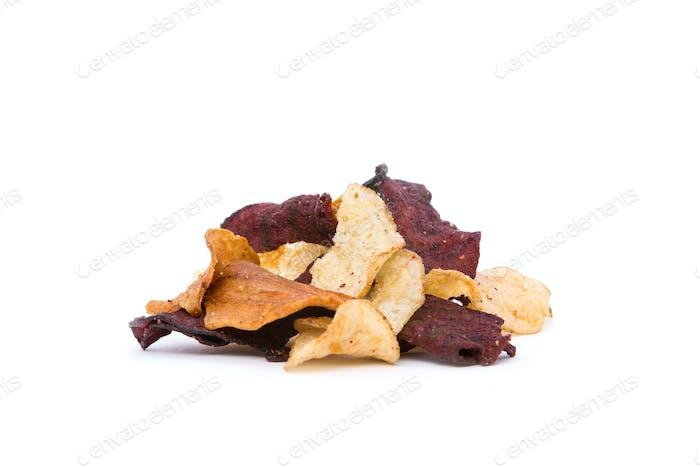 Bio Wurzelgemüse Chips