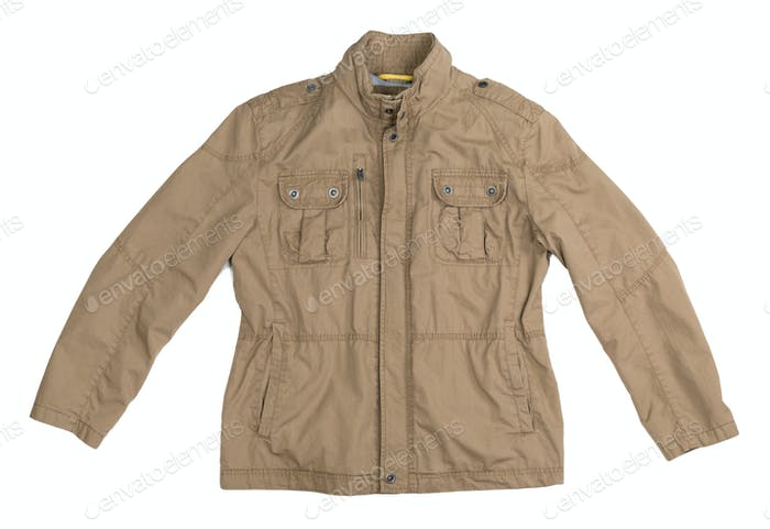 men topcoat - Stock Image
