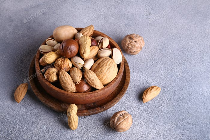 Assorted Organic Nuts