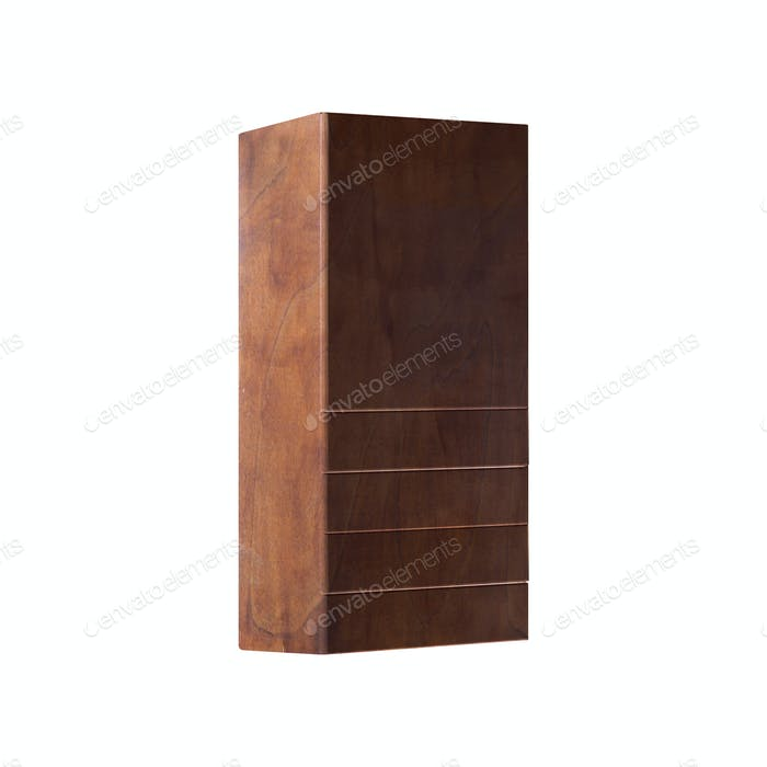 wardrobe Isolated on White background