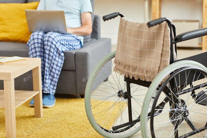 Rollstuhl für Patienten