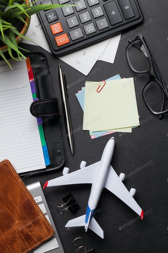 Business trip concept