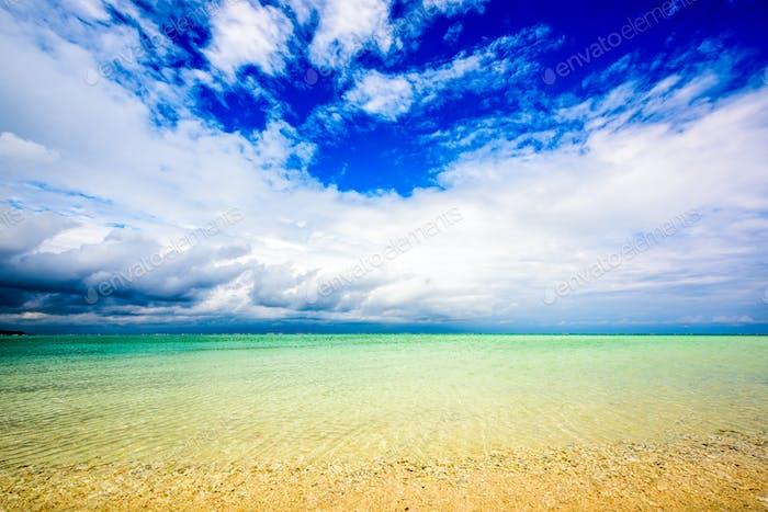 Hatenohama Beach in Okinawa