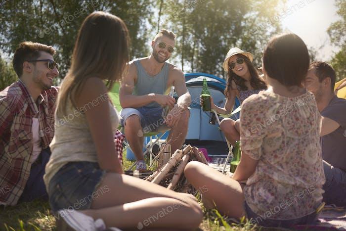 Sommer ist Zeit für Freunde
