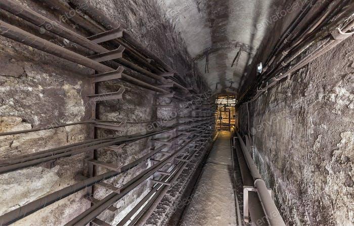 Old underground utility vault
