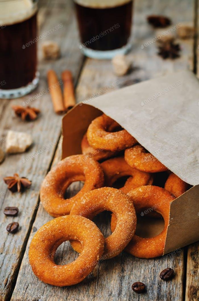 Kürbis-Donuts