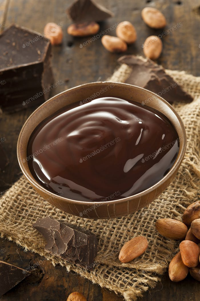 Sweet Dark Chocolate Sauce
