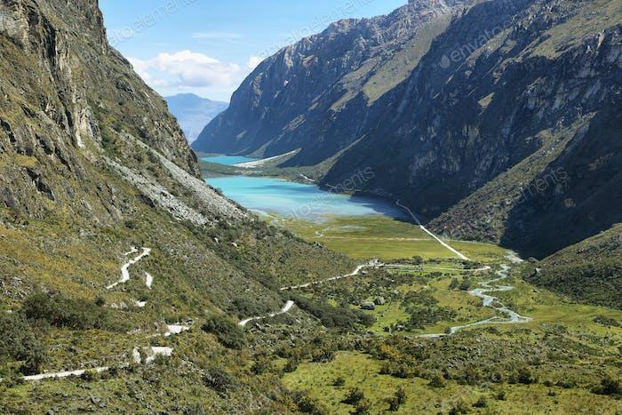 Llanganuco Lakes: Chinancocha and Orconcocha view