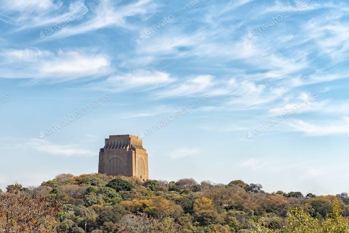 Voortrekker Monument as seen from Fort Schanskop