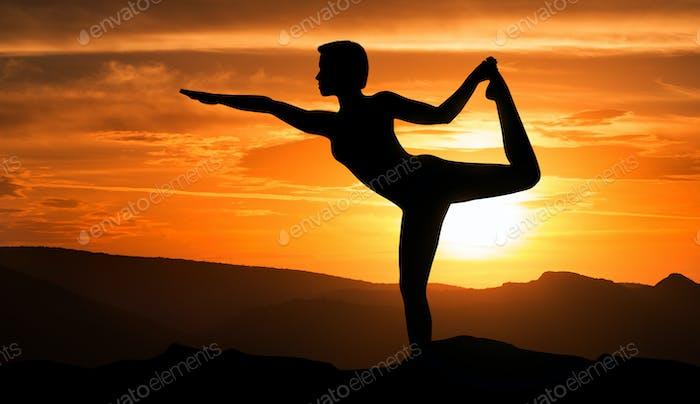 Shiva dance concept