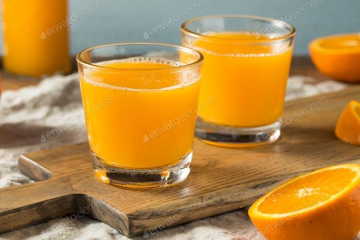Frische Squeeze Orangensaft