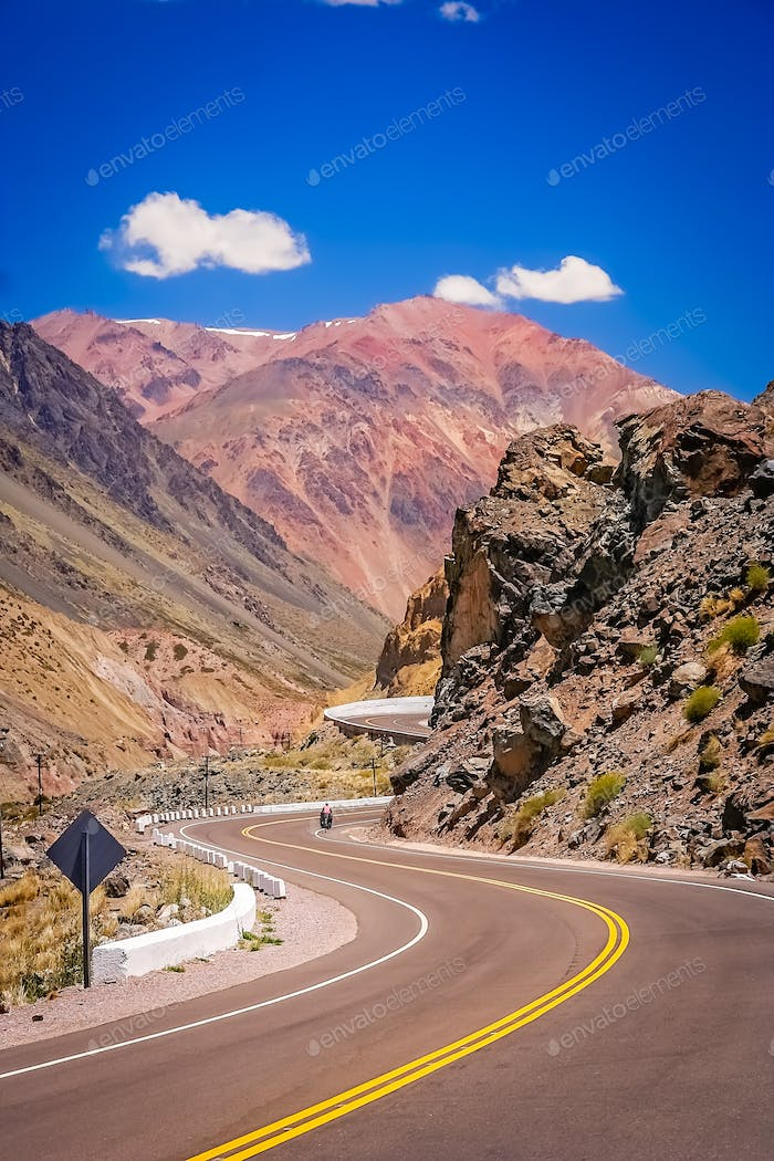 Road through Andes
