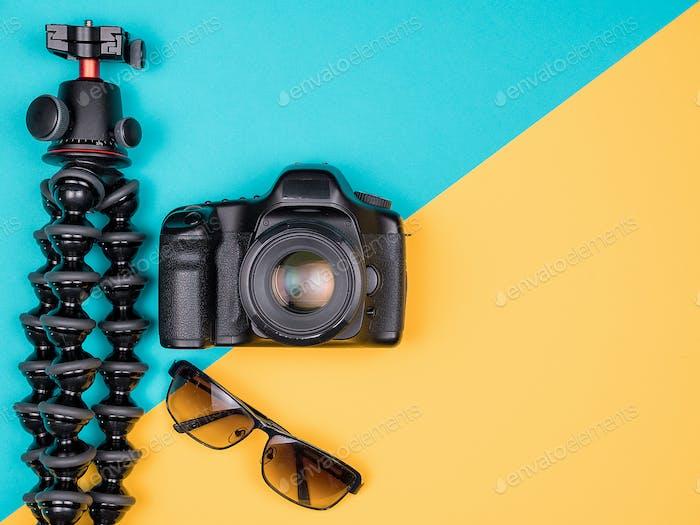Traveller blogger kit for summer vacation
