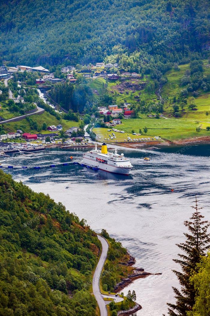 Geirangerfjord, Norwegen.