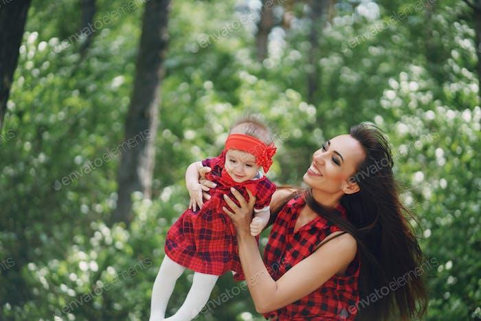Madre con hija