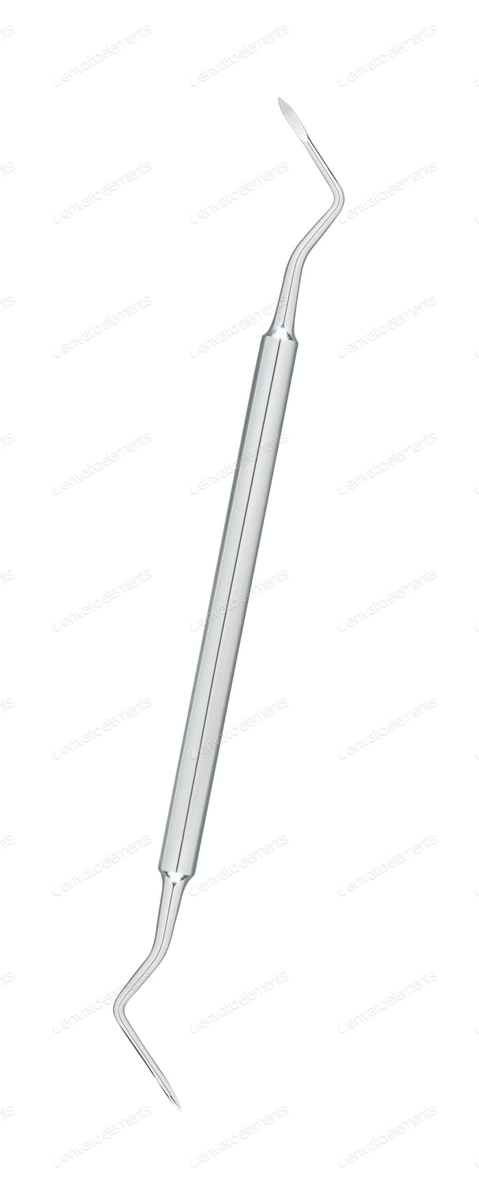 Dental instrument isolated on white