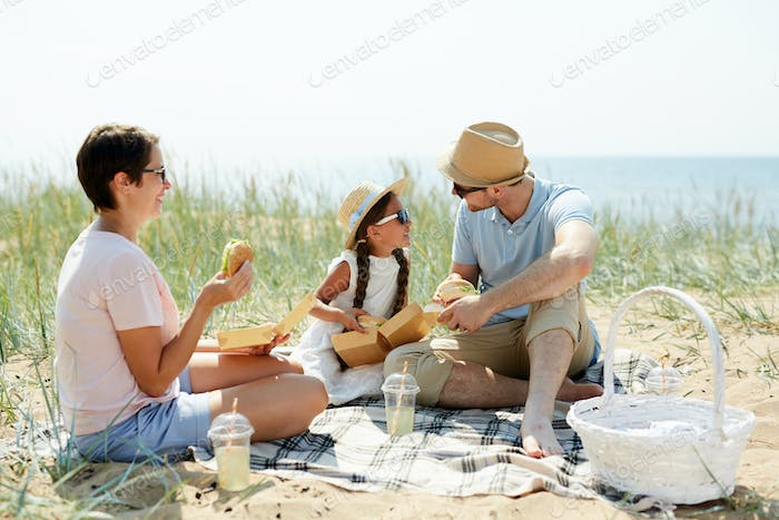 Picnic with parents