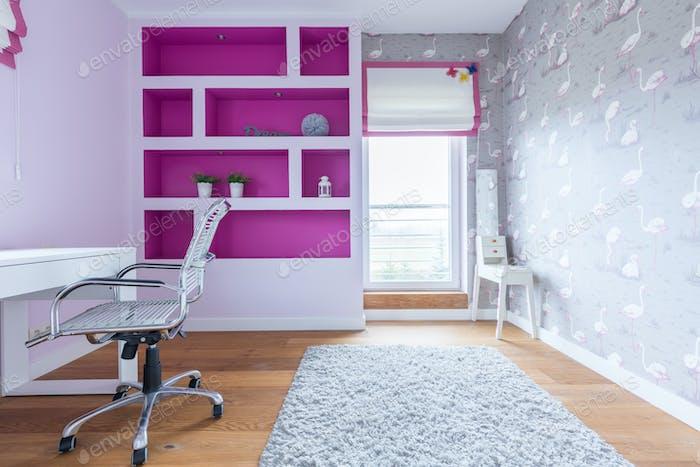 Day room for girl