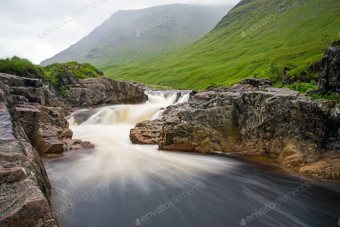 The river Etive in Glen Coe