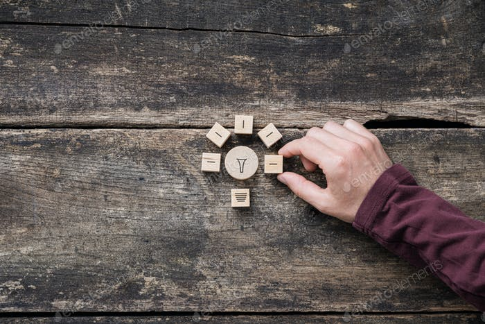 Imagen conceptual de la innovación y la idea
