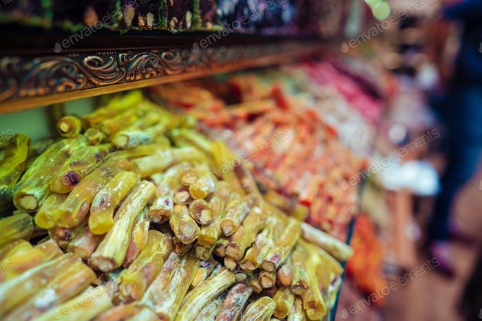 Turkish delight in Istanbul Grand Bazaar